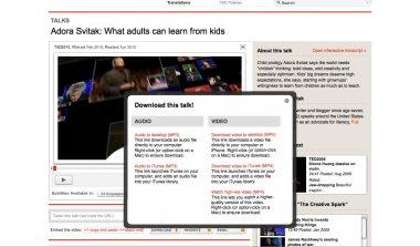 TEDの動画を字幕付きでダウンロード/保存する