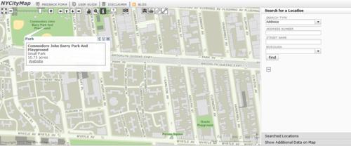 ニューヨーク市の地図サービスがすごい
