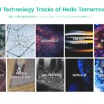 10 Technology Tracks of Hello Tomorrow