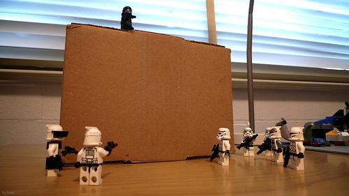 スターウォーズの帝国軍がiPod touchを開封して初期設定するまで