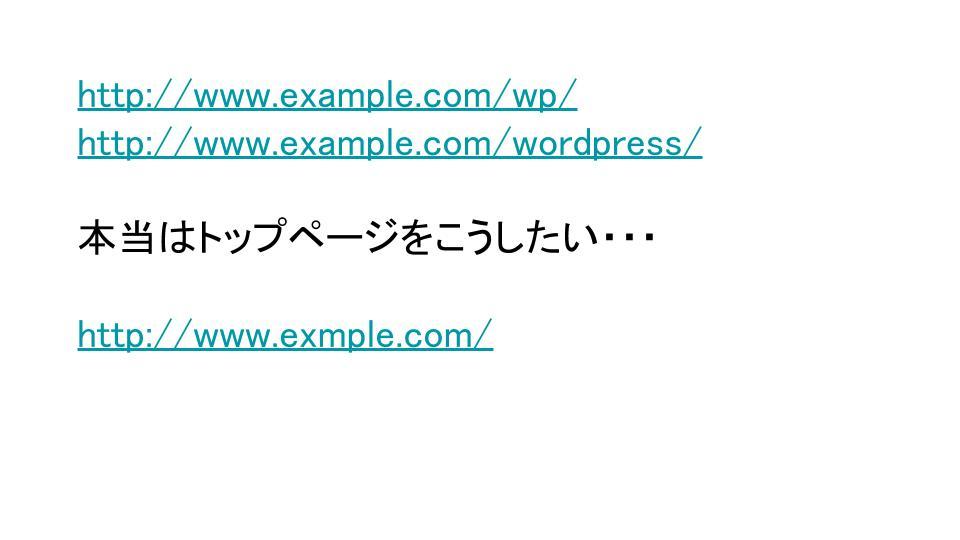 Wordpressのルートディレクトリを変更する方法