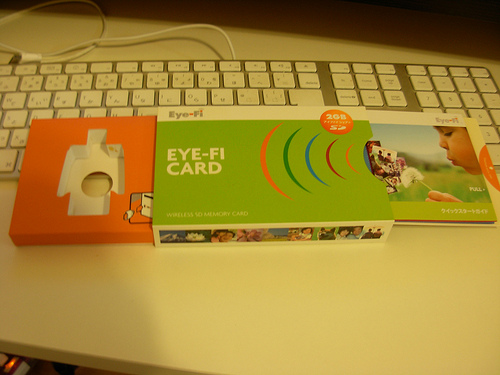 Eye-Fiを購入した