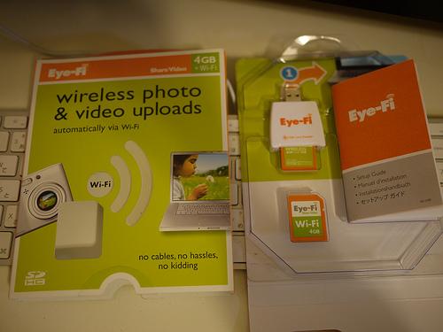 Eye-Fi Share Videoを購入