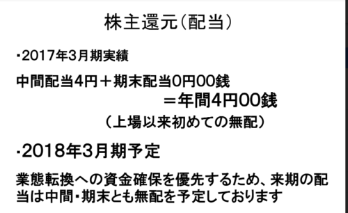 三洋堂HD 株主還元